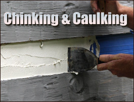Chinking And Caulking  Russell County, Virginia