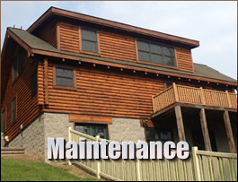 Log Home Maintenance  Russell County, Virginia
